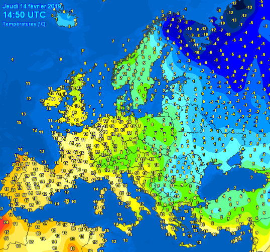 maximum-temperatures-Europe-valentine-day