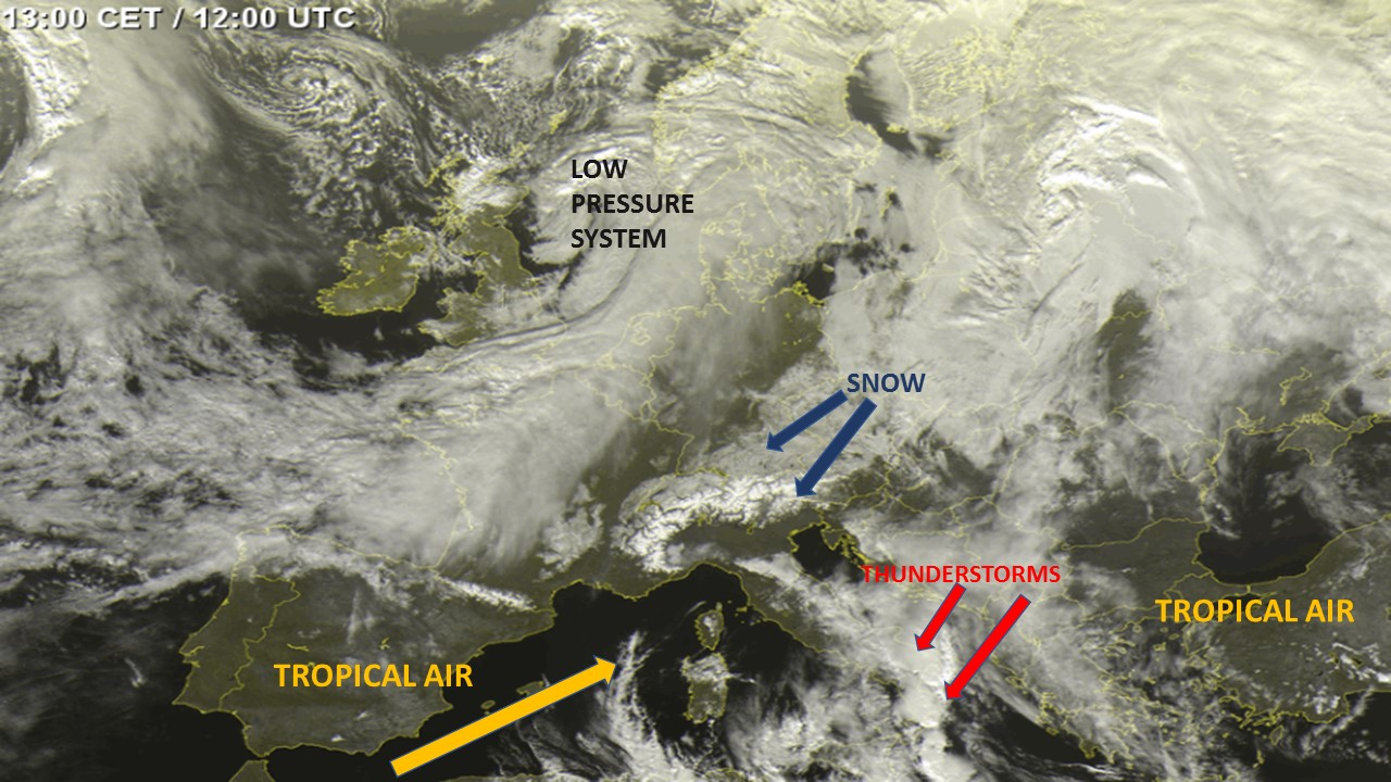 satellite imagery Europe 4/02/2019