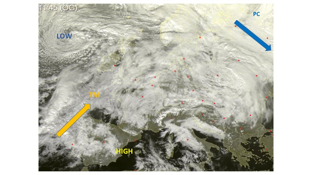Sat Imagery Europe 31/01/2020