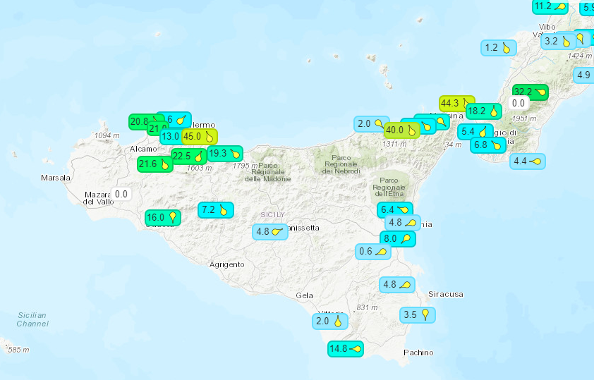 Record-breaking temperatures in Sicily – weather-meteo